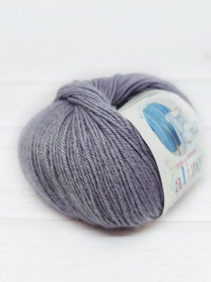 119 Alize Baby Wool (серое небо)