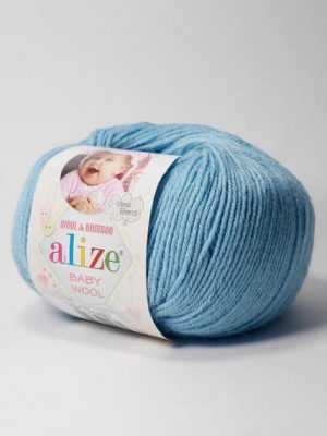 128 Alize Baby Wool (морская вода)