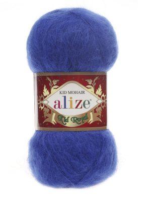 141 Alize Kid Mohair Royal (василек)