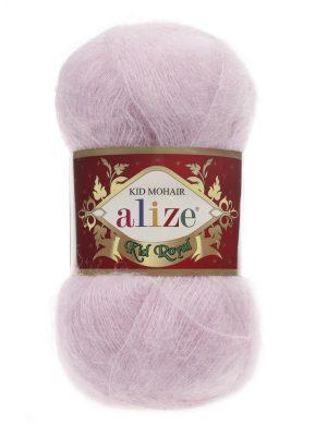 143 Alize Kid Mohair Royal (розовая пудра)