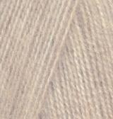 152 Alize Angora real 40 (бежевый меланж) упаковка 1