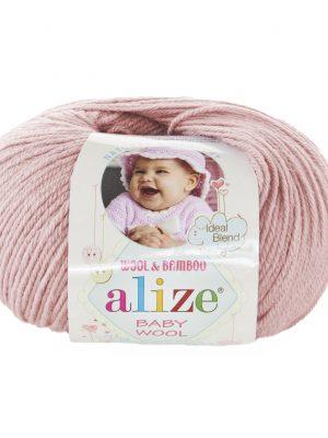 161 Alize Baby Wool (пудра)