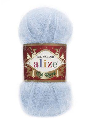 183 Alize Kid Mohair Royal (светло-голубой)