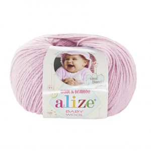 184 Alize Baby Wool (светло-розовый)