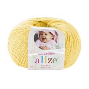 187 Alize Baby Wool (лимонный)