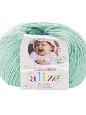 19 Alize Baby Wool (водяная зелень)