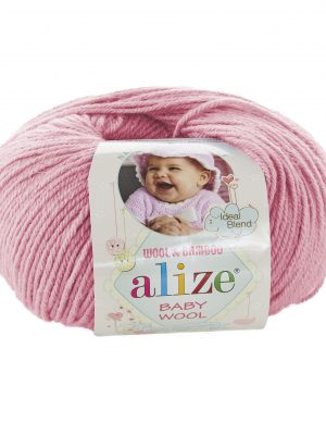 194 Alize Baby Wool (розовый)