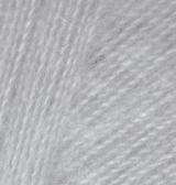 21 Alize Angora real 40 (серый) упаковка 1