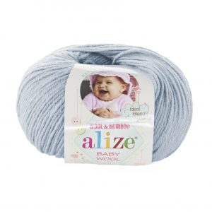 224 Alize Baby Wool (зимнее небо)