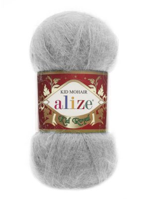 224 Alize Kid Mohair Royal (зимнее небо)