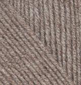 240 Alize Cashmira (коричневый меланж) упаковка 1