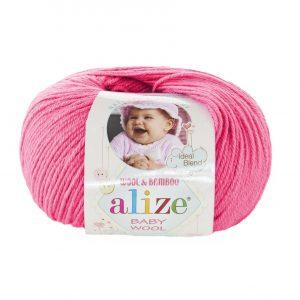33 Alize Baby Wool (темно-розовый)