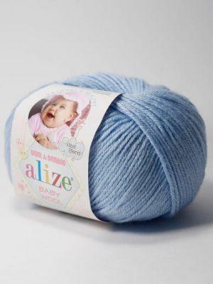 350 Alize Baby Wool (светло-голубой)