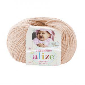 382 Alize Baby Wool (кремовый)