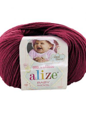 390 Alize Baby Wool (вишневый)