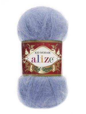 40 Alize Kid Mohair Royal (голубой)