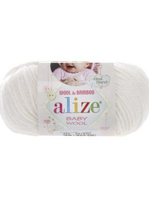 450 Alize Baby Wool (жемчужный)