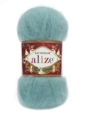 457 Alize Kid Mohair Royal (лазурный)