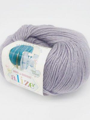 52 Alize Baby Wool (талая вода)