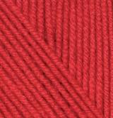 56 Alize Cashmira (красный) упаковка 1