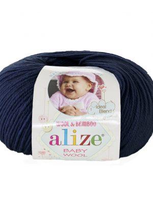 58 Alize Baby Wool (тёмно-синий)