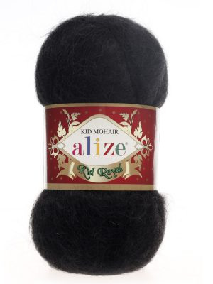 60 Alize Kid Mohair Royal (черный)