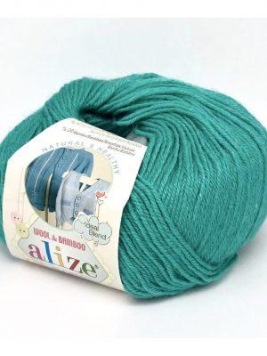 610 Alize Baby Wool (изумруд)