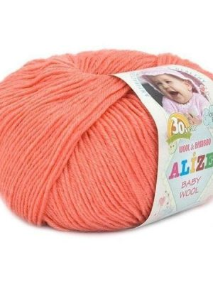 619 Alize Baby Wool (коралловый)