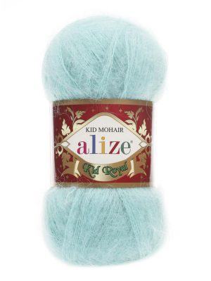 669 Alize Kid Mohair Royal (светлая бирюза)
