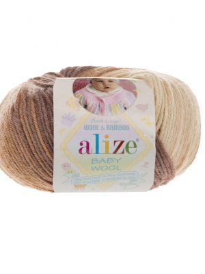 3050 Alize Baby Wool Batik