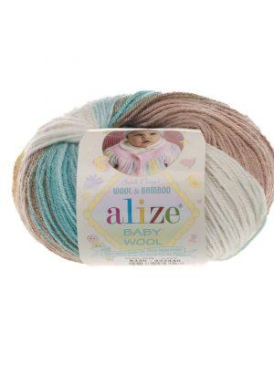 6320 Alize Baby Wool Batik