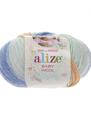 6539 Alize Baby Wool Batik