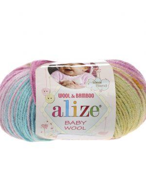 6550 Alize Baby Wool Batik