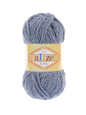 119 Alize Softy (темно-серый)