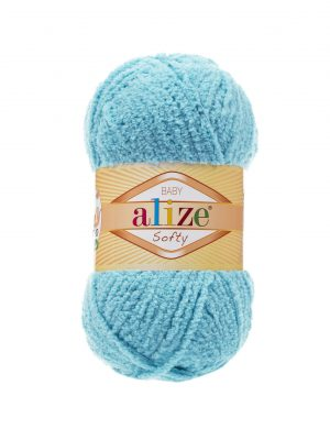 128 Alize Softy (светлая бирюза)