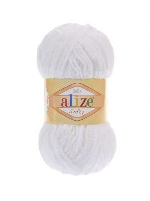 55 Alize Softy (белый)