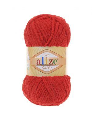 56 Alize Softy (красный)
