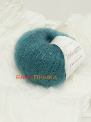7267 Lana Gatto Silk Mohair (петроль)