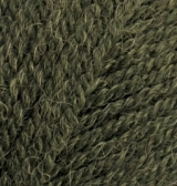 567 Alize Angora real 40 (зеленый меланж) упаковка 1