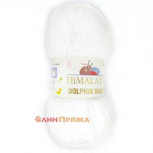 80301 Himalaya Dolphin Baby (белый)