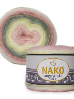 81904 Nako Angora Luks Color