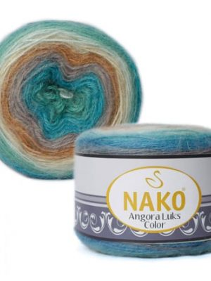 81906 Nako Angora Luks Color