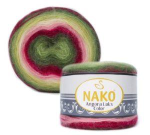 81909 Nako Angora Luks Color