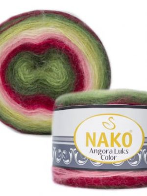 81909 Nako Angora Luks Color