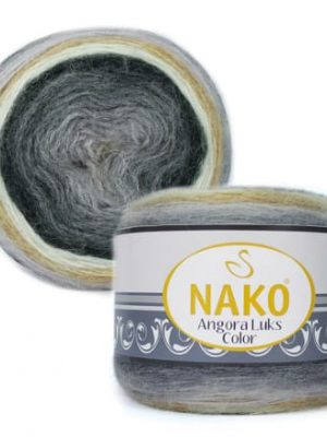 81914 Nako Angora Luks Color