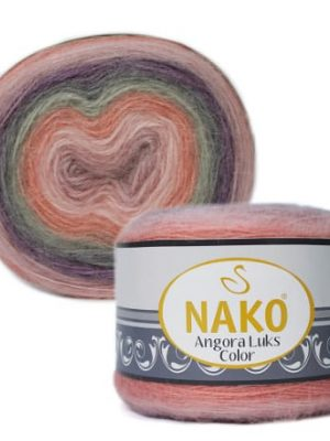 81915 Nako Angora Luks Color