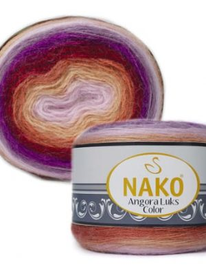 81918 Nako Angora Luks Color