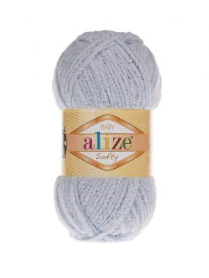 416 Alize Softy (светло-серый)