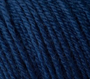 802 Gazzal Baby Wool (темно-синий)