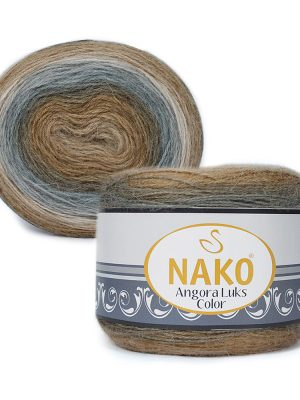 81907 Nako Angora Luks Color